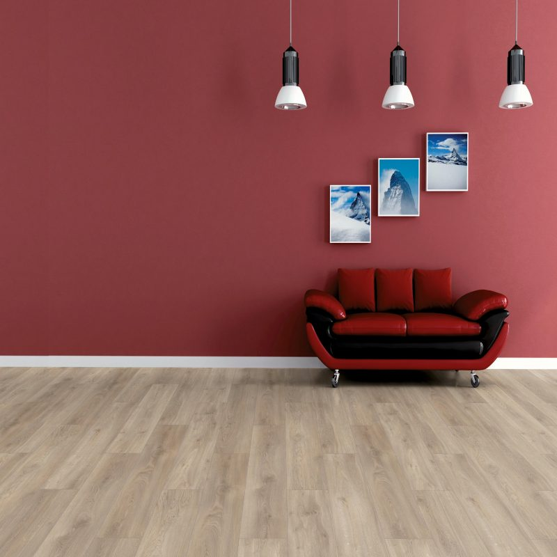 Vivant 8mm Ascona Oak 4V Groove Laminate Flooring
