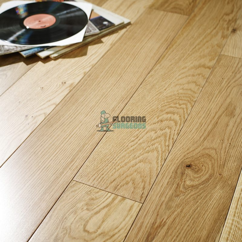 Nevada 18/5 x 125mm UV Lacquered Oak Engineered Wood