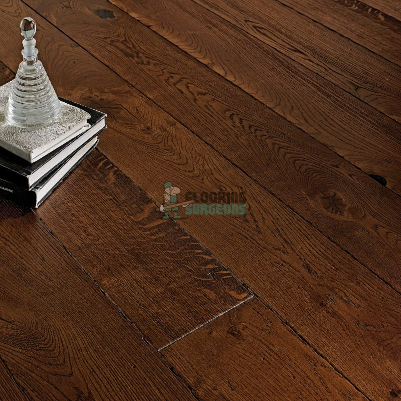 Riviera 20/6 x 190mm Antique Coffee Oak Engineered Wood