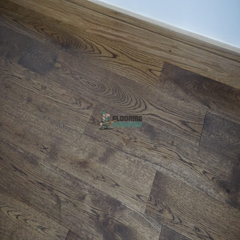Riviera 14/3 x 125mm Coffee Oak Lacquered Engineered Wood