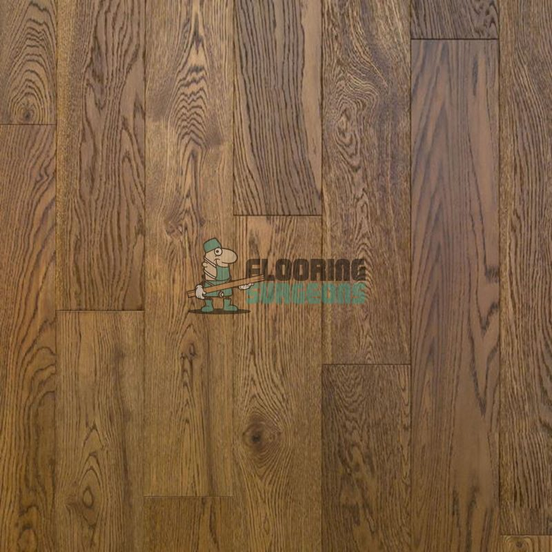Chicago Click 10/2.5mm HDF Brown Brushed & Lacquered Oak Engineered