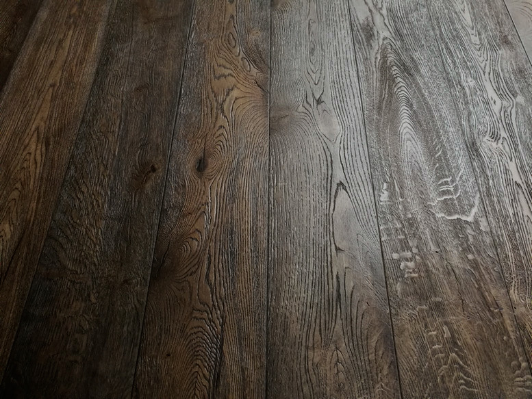 New York 15/4 x 190mm Putnam Distressed Hard Waxed Oiled Oak Engineered Flooring
