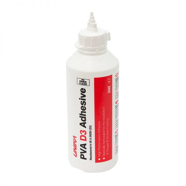 Unika D3 PVA Wood Adhesive 500ml