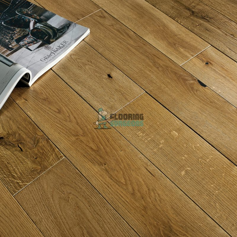 Riviera Click 14/3 x 125mm Brushed & Oiled Oak Engineered Wood