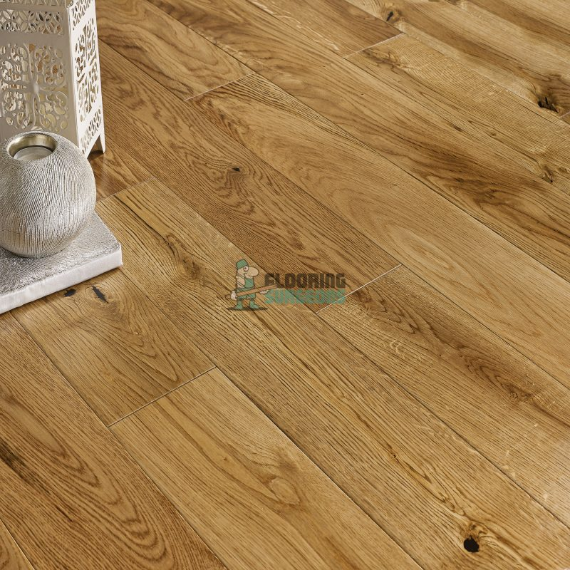 Riviera 20/6 x 190mm Lacquered Oak Engineered Wood