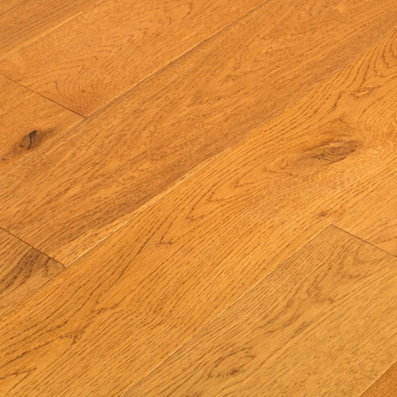 Chicago Click 10/2.5mm HDF Golden Oak Hand Scraped Engineered