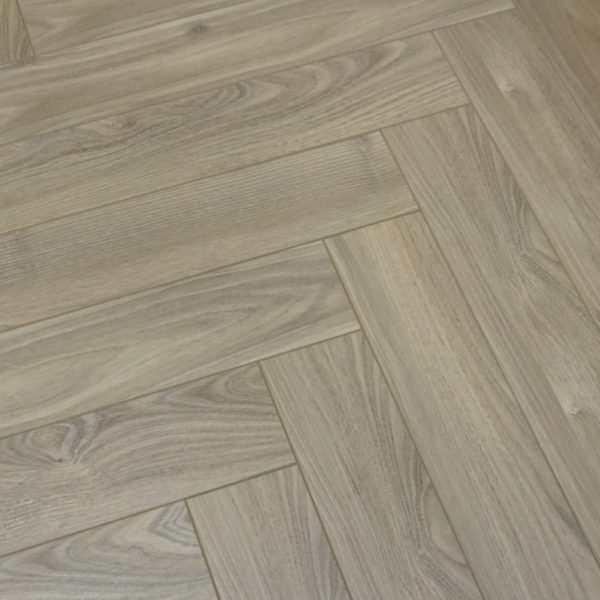 Vivant Vintage Herringbone 12mm Dusk Oak 4V Laminate