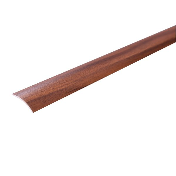 Unika Self Adhesive Walnut Aluminium Threshold Profile