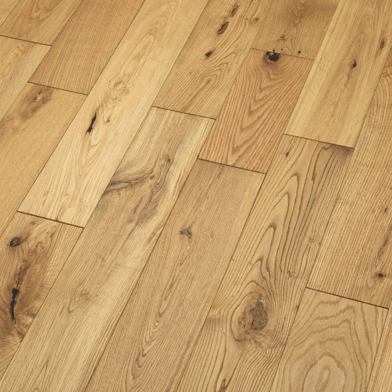 Riviera 14/3 x 125mm Brushed & Oiled Oak Engineered Wood