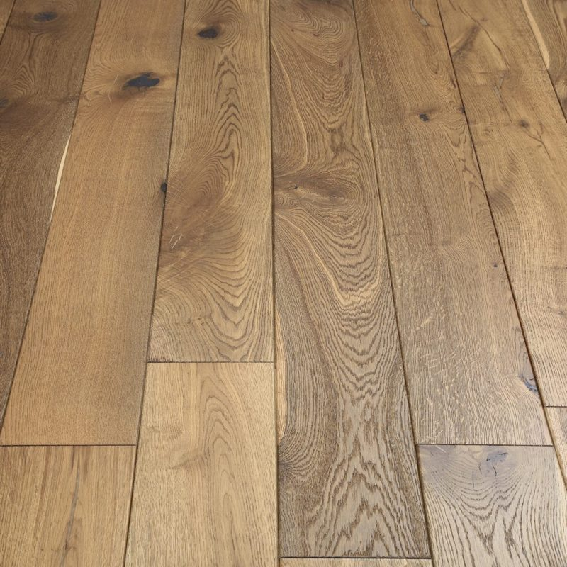 Riviera 20/6 x 190mm Smoked Oak Engineered Wood