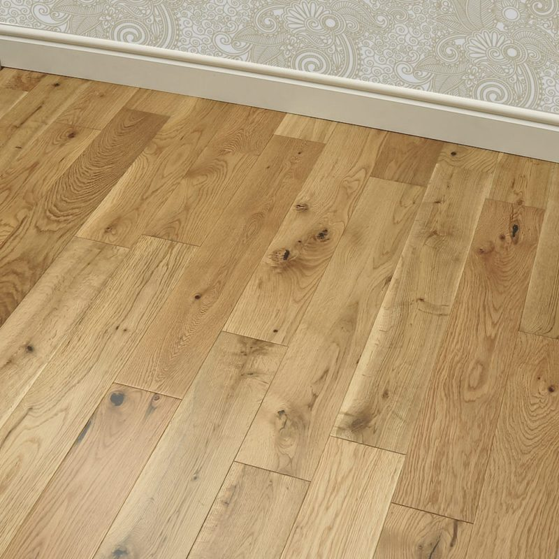 Nevada 18/5 x 150mm UV Lacquered Oak Engineered Wood