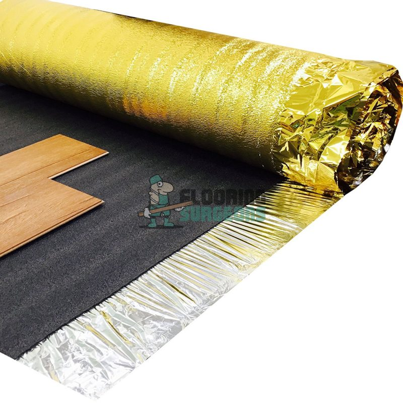 Luxury Gold Acoustic 5mm Laminate & Wood Flooring Underlay