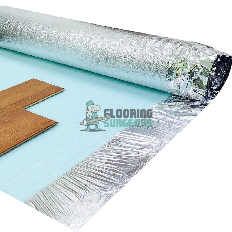 Silver Grade 3mm Foam Laminate & Wood Flooring Underlay