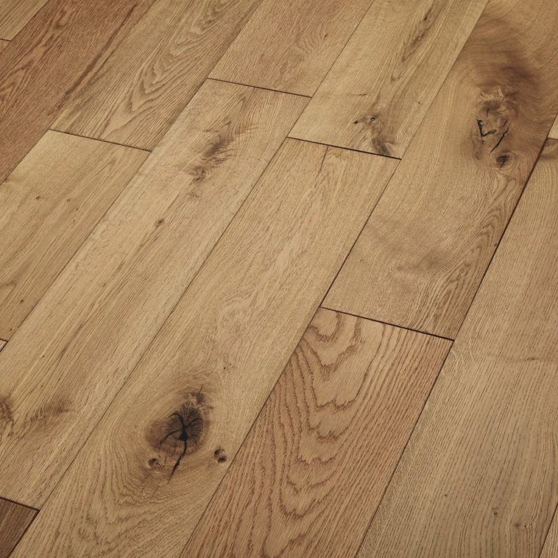 Nevada 18/5 x 150mm Smoked Oak UV Oiled Engineered Wood