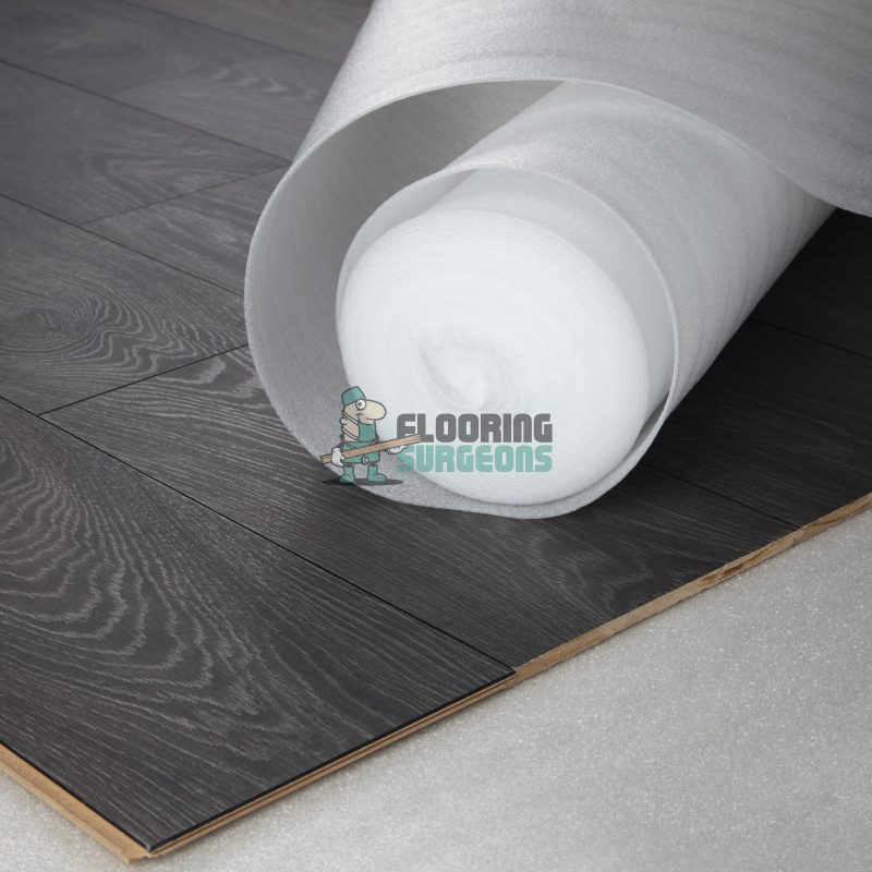 White Basic 2mm Foam Laminate & Wood Flooring Underlay