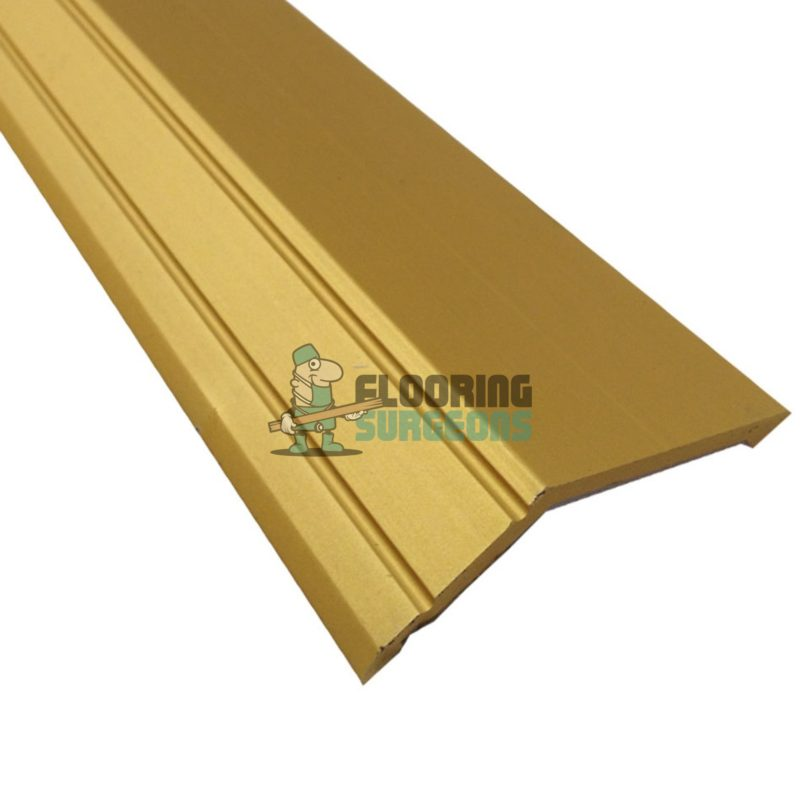 Self Adhesive Gold Aluminium Angle Edge Door Bar Profile Strip