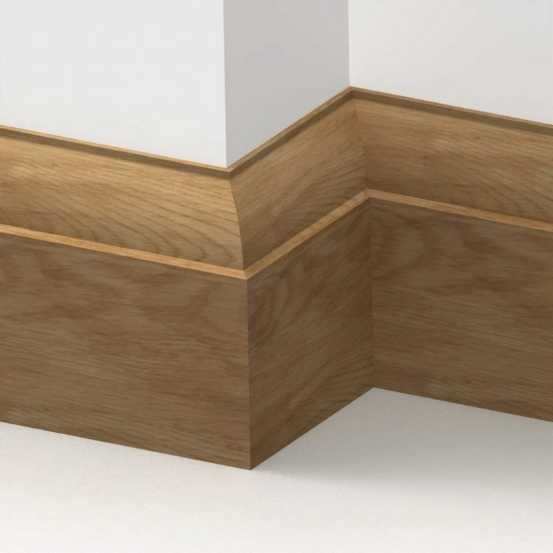 20mm American Solid Oak Ovolo Skirting Board