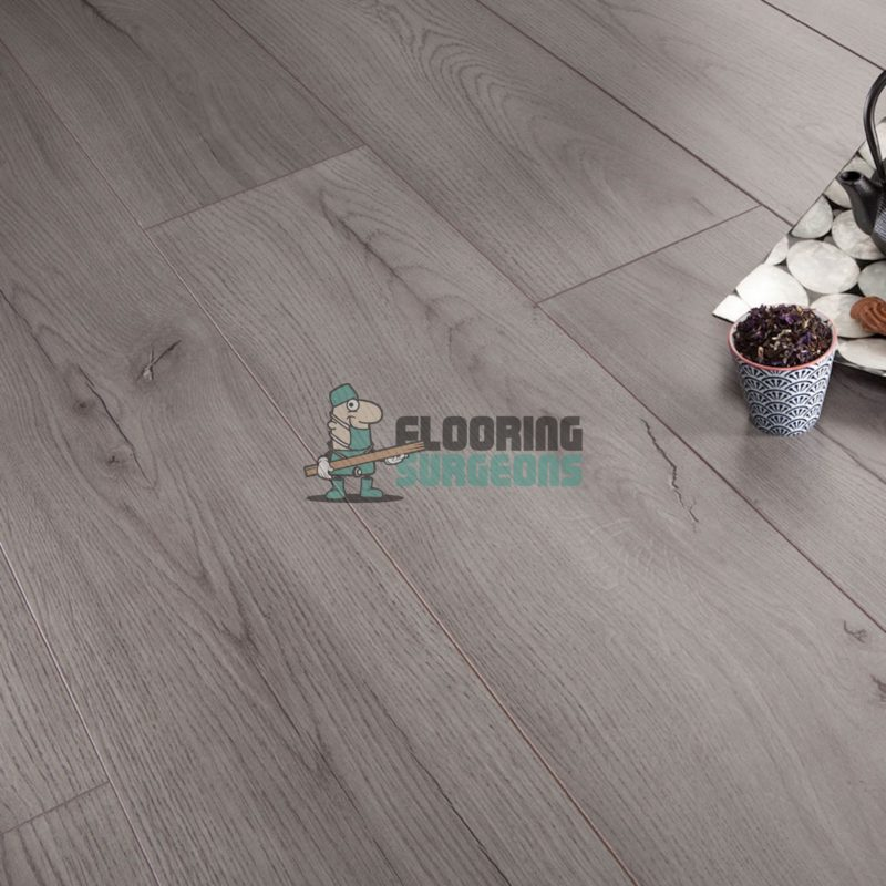 Kronotex 7mm Century Grey Oak 4V Groove Laminate Flooring