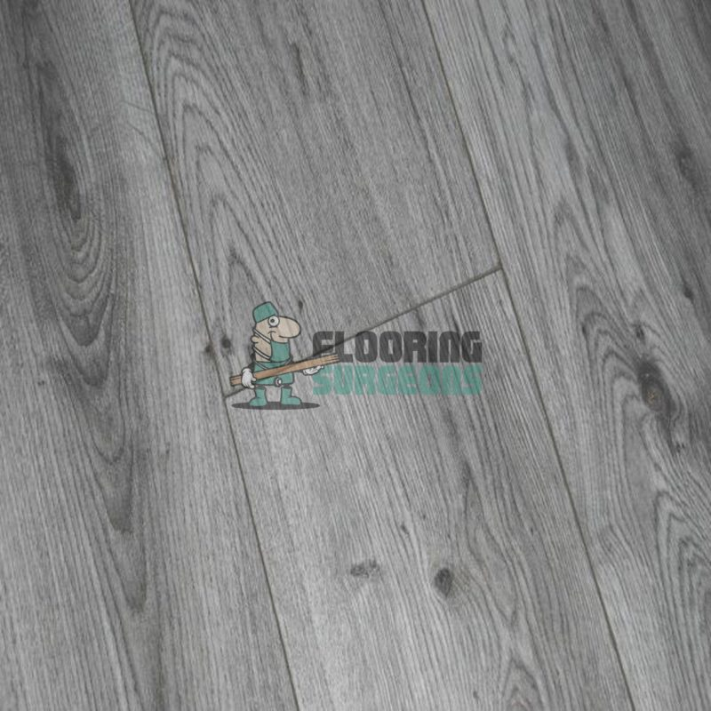 Kronotex 7mm Millenium Grey Oak 4V Groove Laminate Flooring