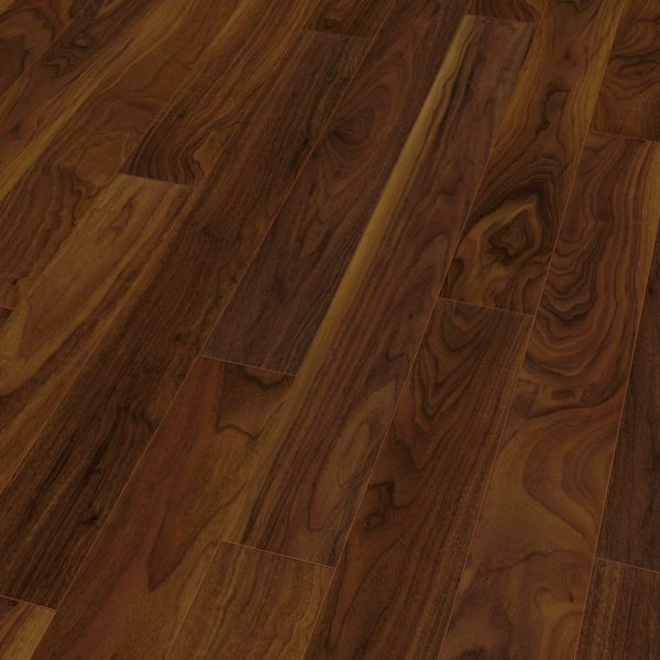 Finsa Narrow 8mm Majestic Walnut 4v Uniclic Laminate Flooring