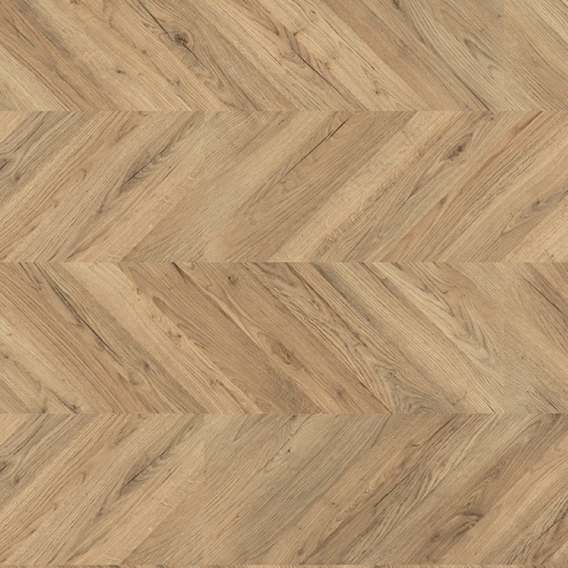Egger Kingsize 8mm Dark Rillington Oak Laminate Chevron Flooring EPL012