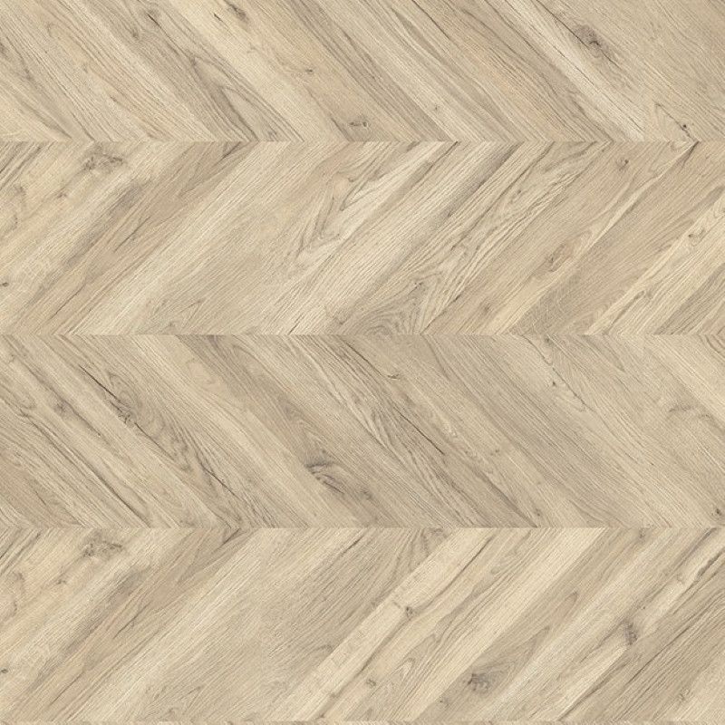 Egger Kingsize 8mm Light Rillington Oak Laminate Chevron Flooring EPL011