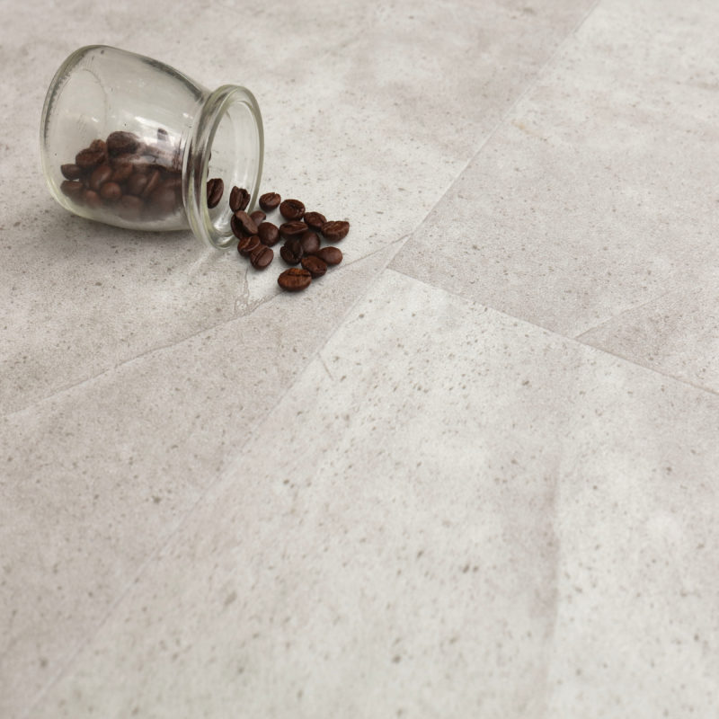 6.5mm Nature Stone Tile Effect Luxury Vinyl Click Flooring