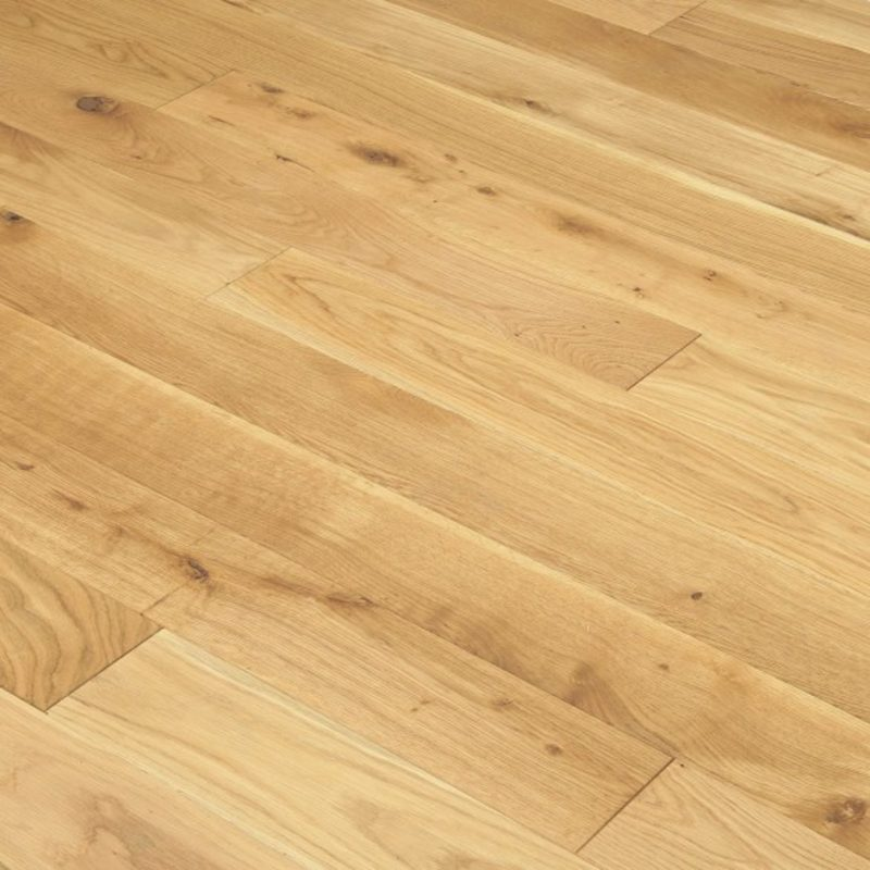 Alabama 150mm Natural Brushed & Oiled Oak Solid Wood Flooring