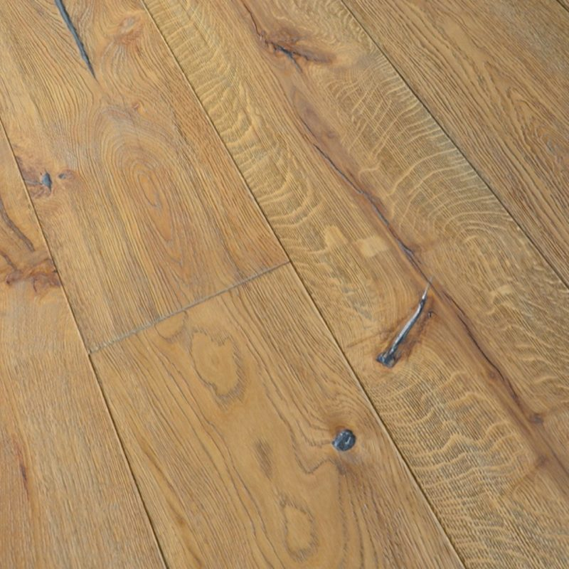 Alabama 15/4 x 220mm Distressed Hard Waxed Ranch Oak Engineered