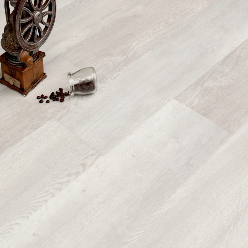 6.5mm Royal White Effect Luxury Vinyl Click Flooring