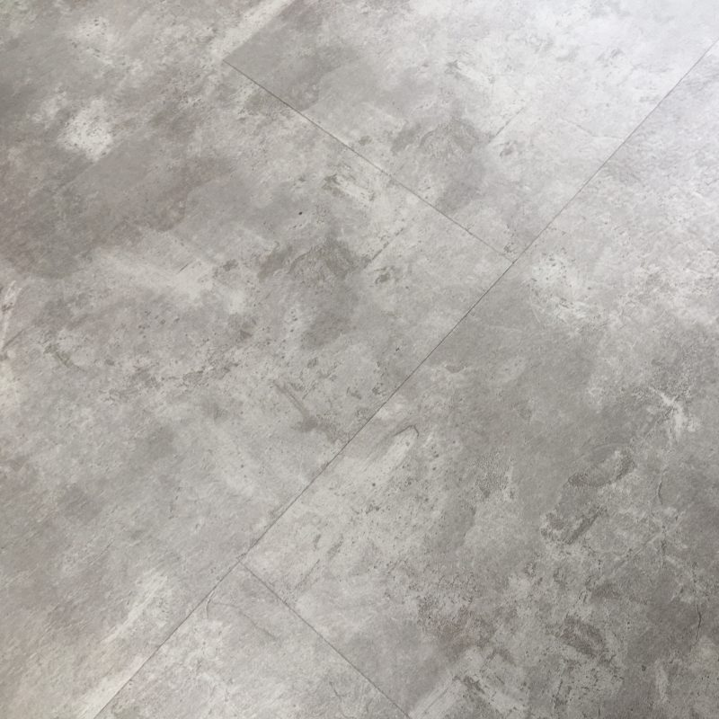 4mm Concrete Tile Effect Luxury Vinyl Click Flooring