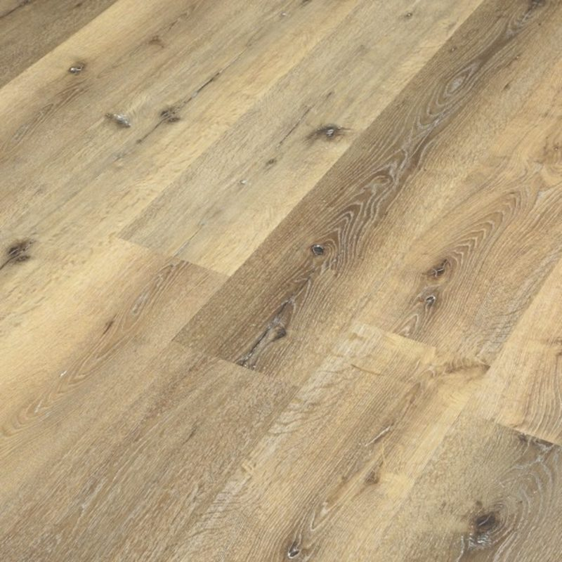 4mm Classic Oak Effect Luxury Vinyl Click Flooring