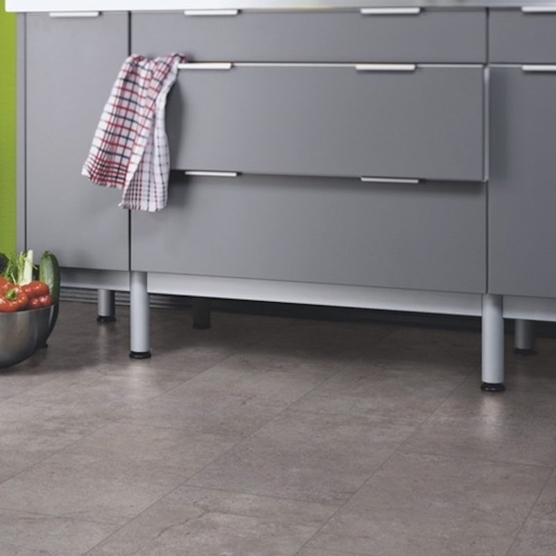 Kronotex Mega Plus 8mm Concrete Tile Effect Laminate Flooring