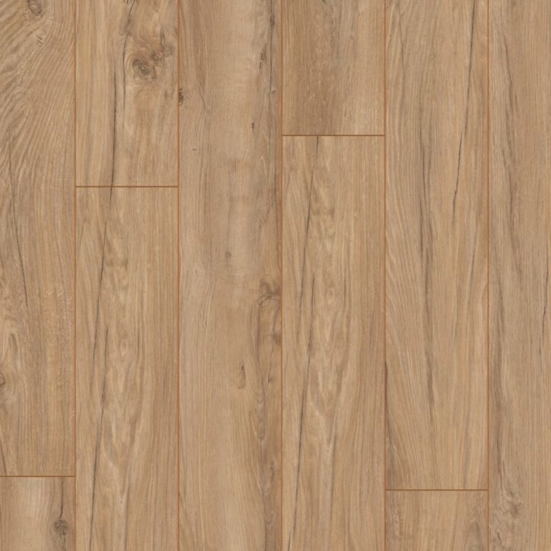 Kronotex 12mm Americo Light Oak 4V Groove Laminate Flooring