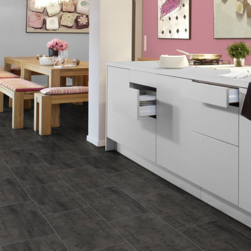 Kronotex Mega Plus 8mm Senia Tile Effect Laminate Flooring