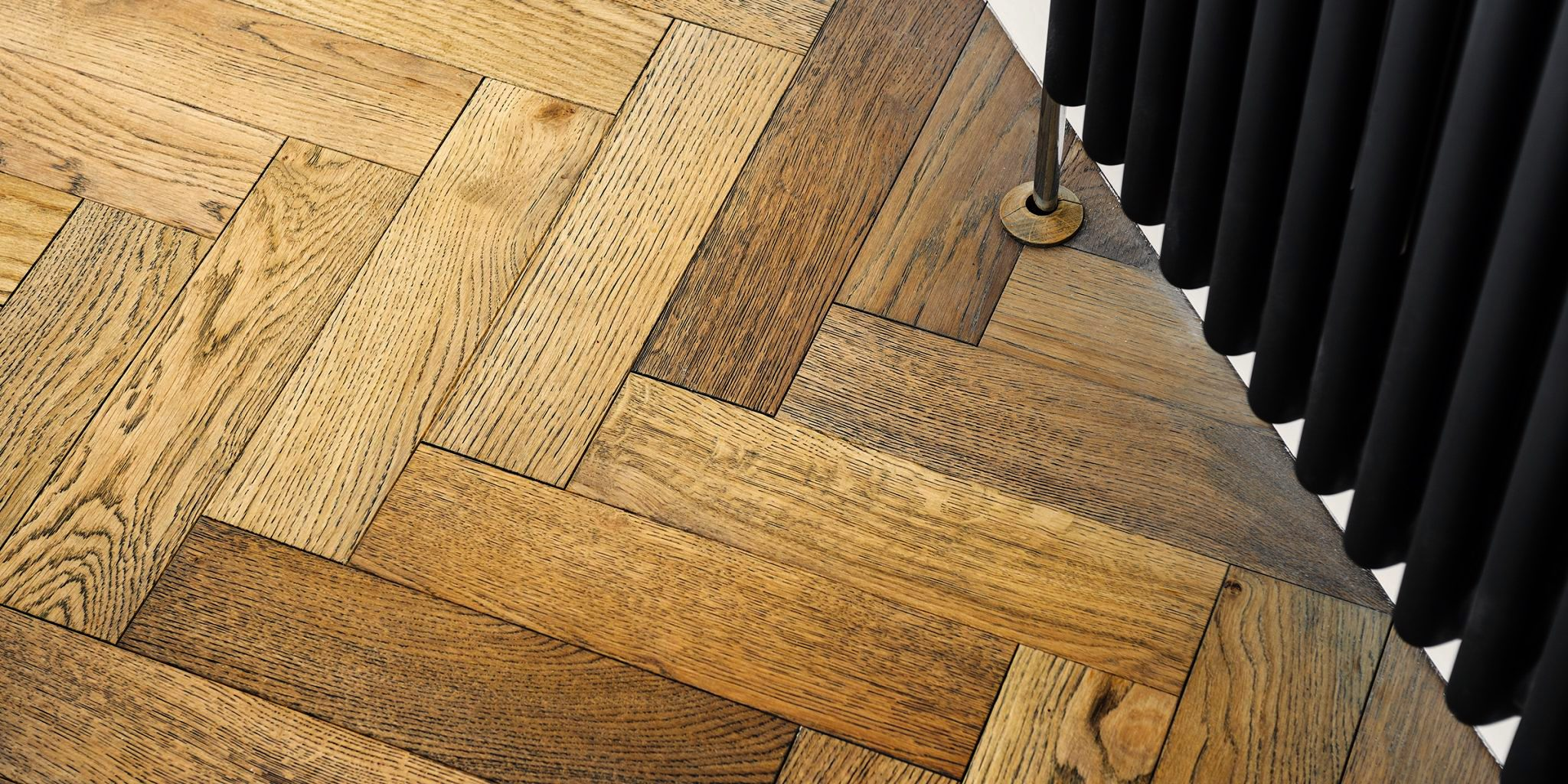 Dolcevita 15/4 x 90mm Smoked Fumed Oak Herringbone Engineered