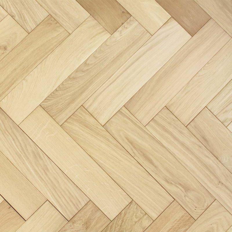 Dolcevita 15/4 x 90mm Unfinished Raw Oak Herringbone Engineered