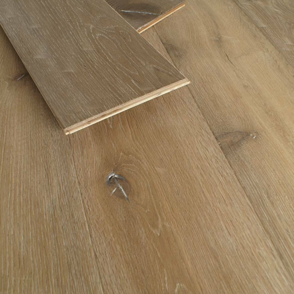 Alabama 15/4 x 220mm Distressed Hard Waxed Smoked White Oak Engineered