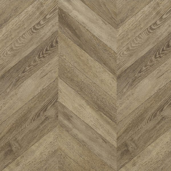 Faus 8mm Masterpiece Chevron Classic Oak Laminate Flooring