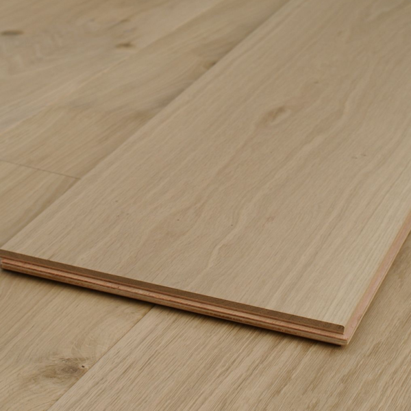 Supreme XL 300mm Extra Wide Unfinished Oak Engineered