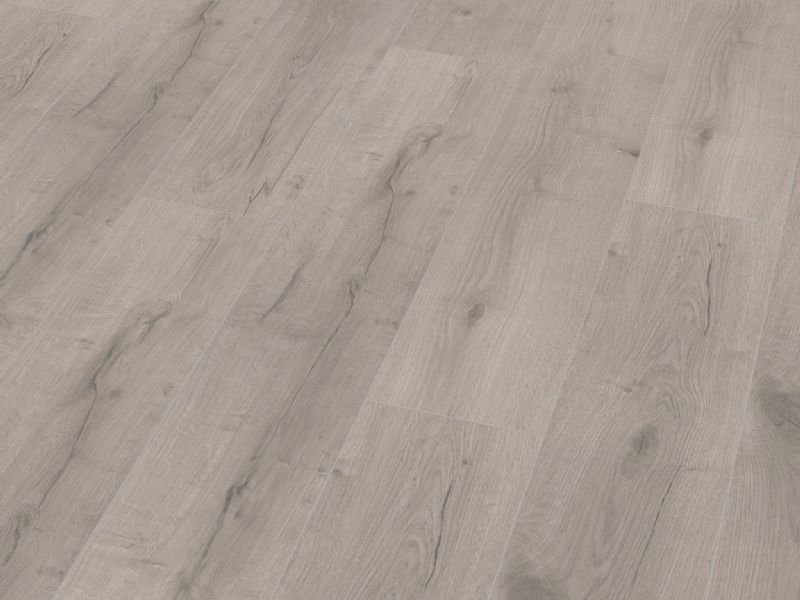 Fusion Classic 12mm Grey Robust Oak 4V Groove Laminate Flooring