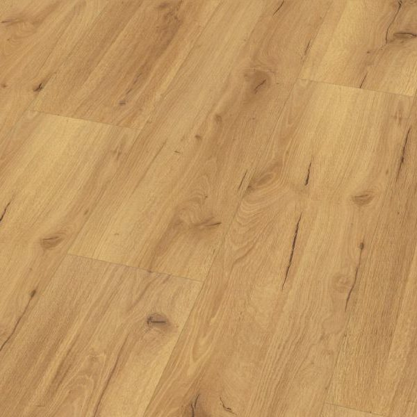 Fusion Classic 12mm Natural Robust Oak 4V Groove Laminate Flooring