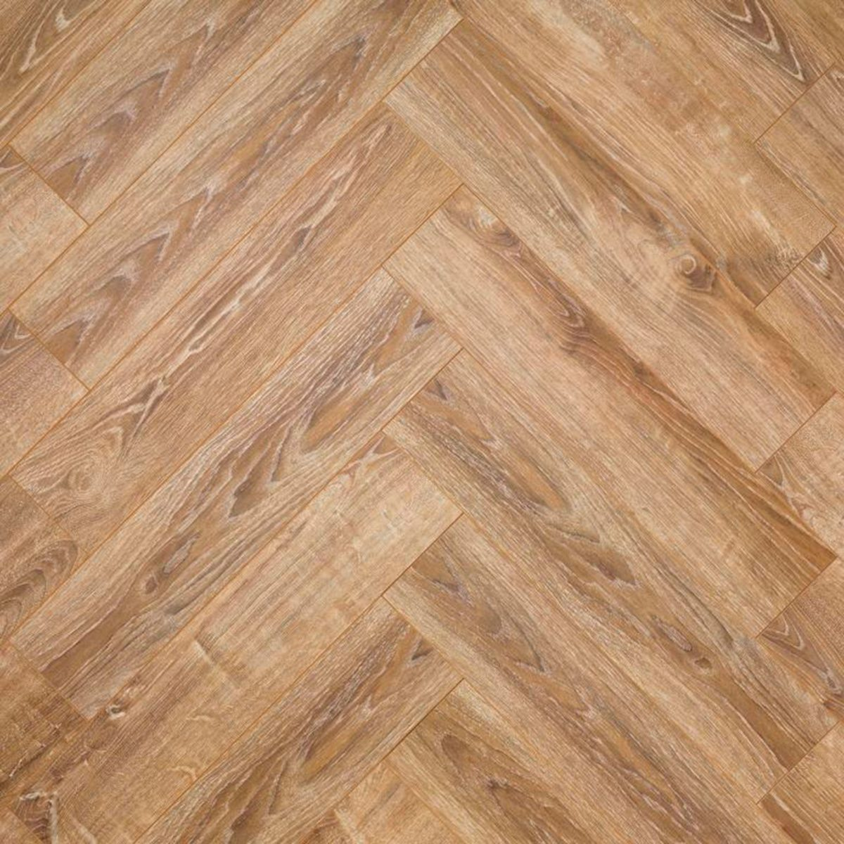 Nature AC6 Herringbone 12mm Rustic Oak Laminate Flooring