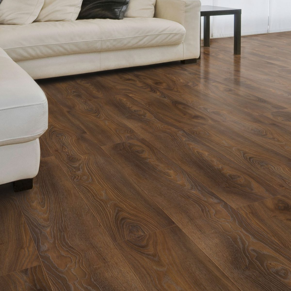 Nature XXL 12mm Burnished Elm Oak 4V Groove Laminate Flooring