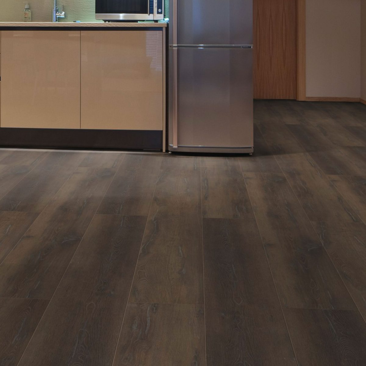 Nature XXL 12mm Fumed Rustic Oak 4V Groove Laminate Flooring