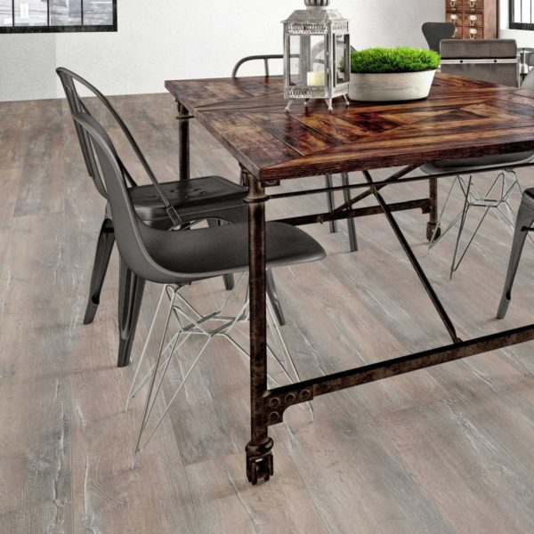 Nature XXL 12mm Weathered Rustic Oak 4V Groove Laminate Flooring