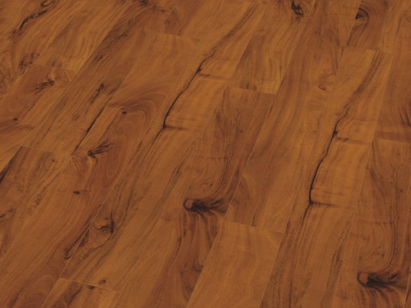 Fusion Gloss 12mm Narrow Acacia 4V Groove Laminate Flooring
