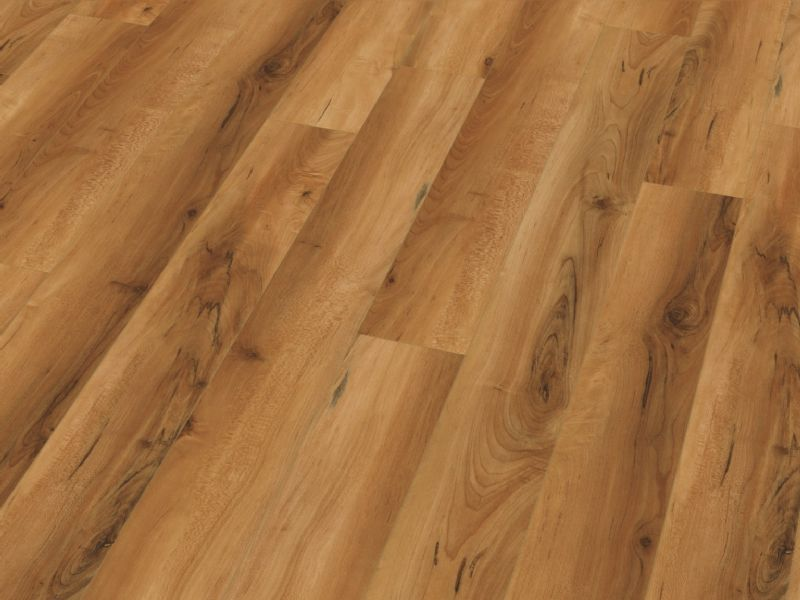 Fusion Gloss 12mm Narrow Maple Hickory 4V Groove Laminate Flooring