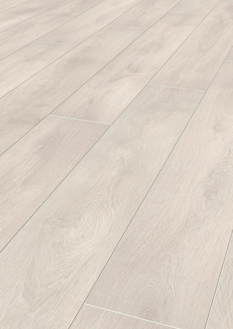 Home Elite 12mm Ice White Oak 4V Laminate Flooring