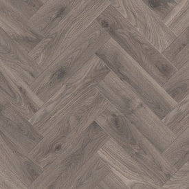 Multi Format Herringbone 10mm Atom Grey Oak 4V Laminate Flooring